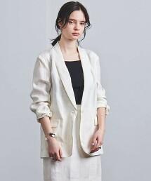 UGCM 格紋 絲瓜領 西裝外套 日本製