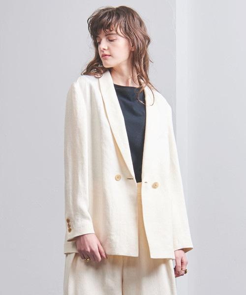 UGCB LI 人字呢絲瓜領西裝外套