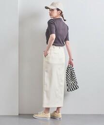 UWSC 斜插口袋 窄裙