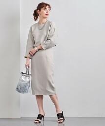 UBC 多色 平織 窄裙