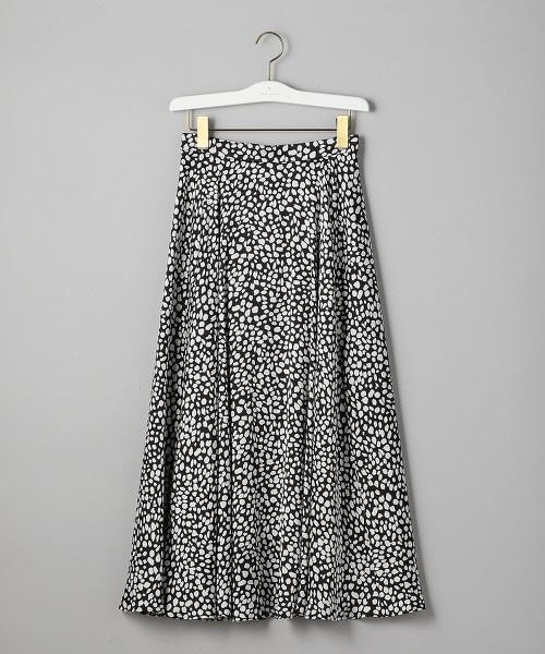 UWSC 豹紋 荷葉裙