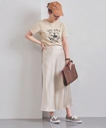 UWCS TA/P 緞面長裙