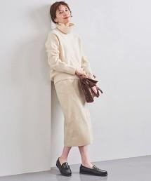 UWCB 仿麂皮窄裙 日本製