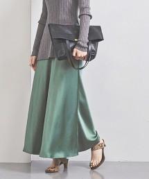 UWFM TA/P 緞面長裙 20FW 日本製