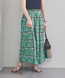 UWCC 民族風印花裙 日本製