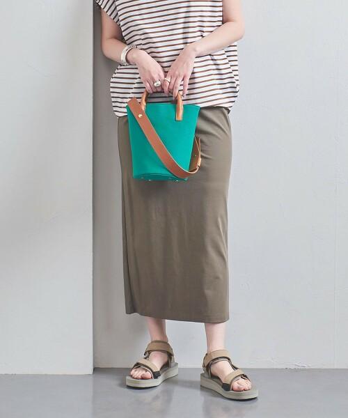UWSC 柔滑素材 運動服材質 窄裙 日本製