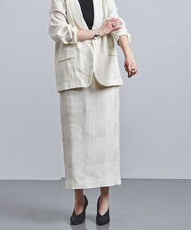 UGCM 格紋 窄裙 日本製