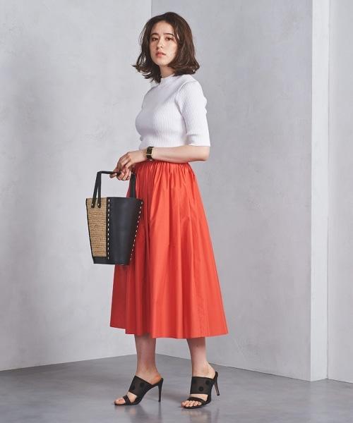 UBCS C/P 皺褶 荷葉裙