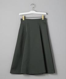 UBCS 緞面 高腰 喇叭裙