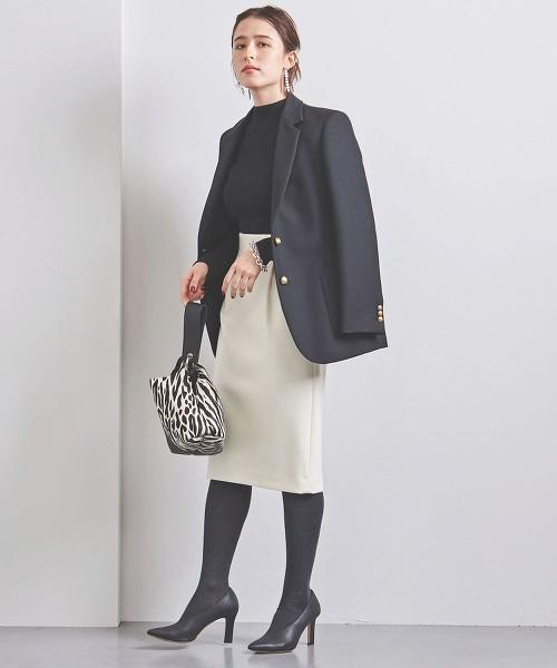 UBCB 柔滑素材 打摺 窄裙 OUTLET商品