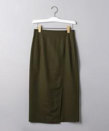UBCB 側開衩 棉窄裙 日本製