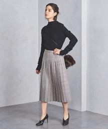 UBCS P/W 格紋百褶裙