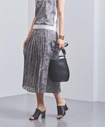 UBCB 蟒紋百褶裙