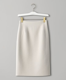 UGCB  W/NY 雙層織物 窄裙