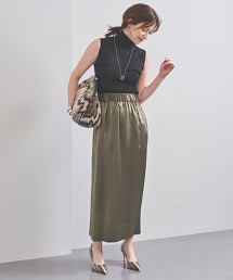 <SACRA>色丁 長裙 日本製