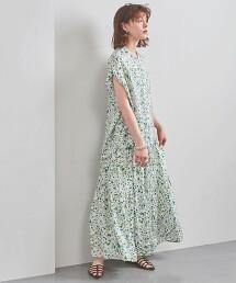 <SACRA>印花 蛋糕裙 迷嬉裙 日本製
