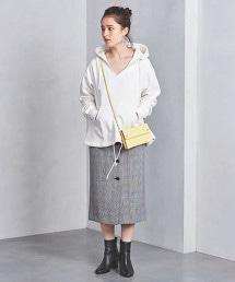 UWSC 排釦  格紋 窄裙
