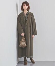 <SACRA>雙排釦 單片布大衣