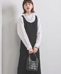 UWSC U領 長版針織連身裙†