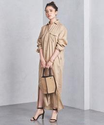 UBCB 亞麻襯衫式洋裝 †