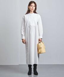 <UNITED ARROWS>C BOSOM 襯衫式洋裝 W