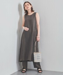 UBCC FIBRIL 無袖 長洋裝