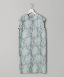 UBCS 剪織緹花 圓領洋裝