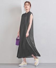 UWFM 抽摺 長版 洋裝 日本製