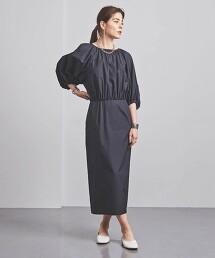 UGCMD 抓皺 蓬鬆版型 洋裝 日本製