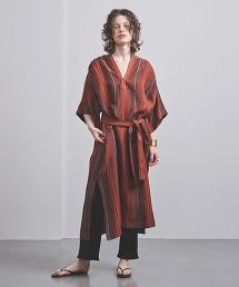 UGMSC 直條紋卡夫坦洋裝