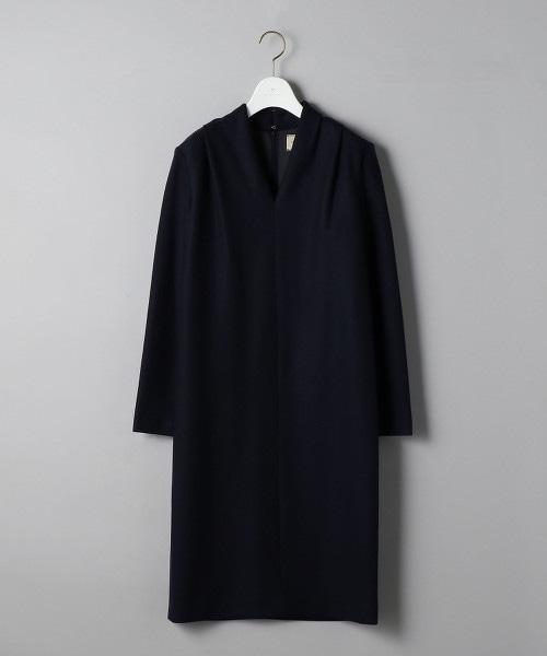 UBCS 輕盈 V領 長袖連身裙