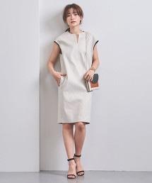 UBCS 滾邊法國袖洋裝