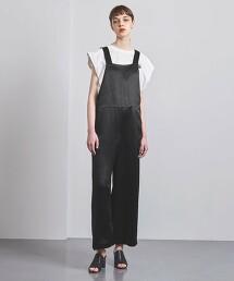 UGMSC 緞面 吊帶褲 日本製