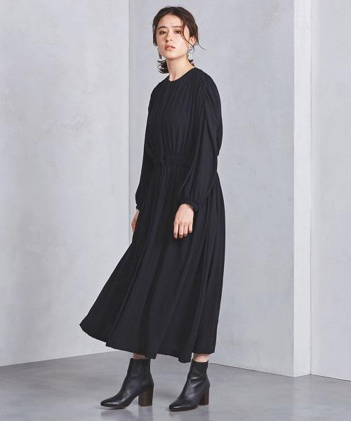 <SACRA>皺褶 洋裝