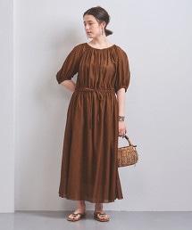 <SACRA>細褶短袖洋裝■■■