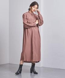 <SACRA>襯衫式洋裝
