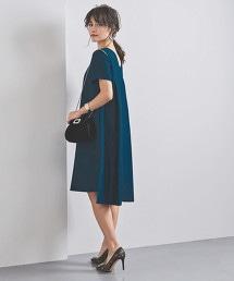 <FLICKA>A字短袖洋裝
