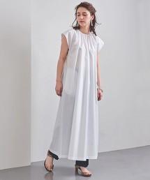 <SACRA>碎褶領 洋裝