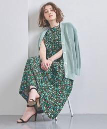 <SACRA>印花 無袖 洋裝 日本製