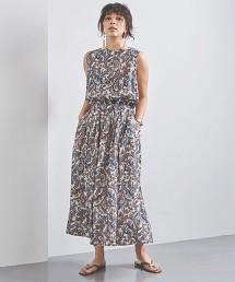 <SACRA>變形蟲 無袖 洋裝 日本製