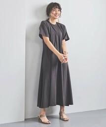 <SACRA>運動服材質 洋裝 日本製