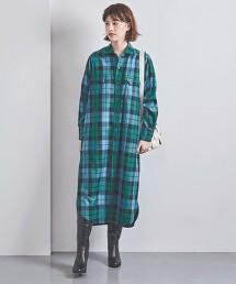<TICCA>格紋 獵裝外套 洋裝 日本製