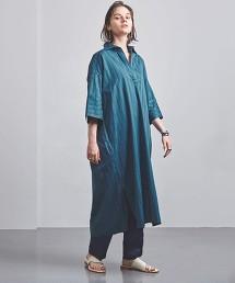 特別訂製<TICCA>暗色直條紋開領洋裝