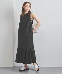 <SACRA>無袖層次連身裙 日本製