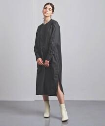 特別訂製<TICCA>無領 襯衫式洋裝 日本製