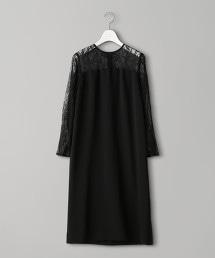 UPCB 蕾絲拼接連身裙19SS