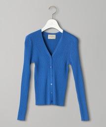UBCB 羅紋 V領 短版對襟外套