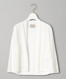 UBCB 短版無扣對襟外套