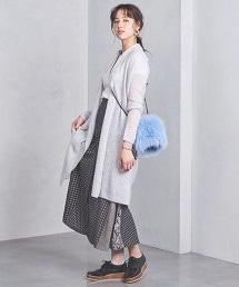 UWSC 毛圈紗布 長版對襟外套
