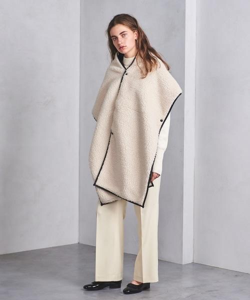 <HYKE>羊毛圍巾■■■